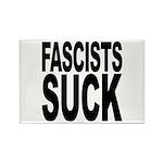 Fascists Suck Rectangle Magnet (10 pack)