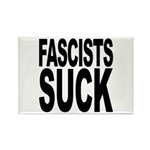 Fascists Suck Rectangle Magnet (100 pack)