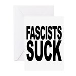 Fascists Suck Greeting Cards (Pk of 20)