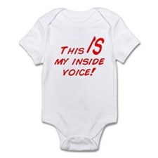 Inside Voice Infant Bodysuit