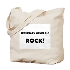Secretary Generals ROCK Tote Bag