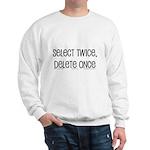 select twice Sweatshirt