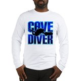 Cave Diver Text Long Sleeve T-Shirt