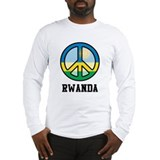 Peace In Rwanda Long Sleeve T-Shirt