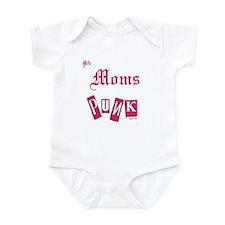 MY MOMS PUNK Infant Bodysuit