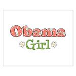 Obama Girl Obama Small Poster