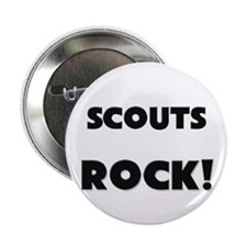 "Scouts ROCK 2.25"" Button"