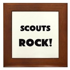 Scouts ROCK Framed Tile