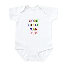 God's little man Infant Bodysuit