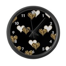 Lion Cub Large Wall Clock