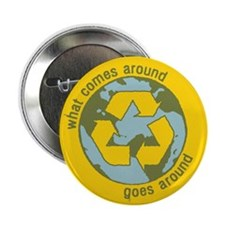 "What Comes Around 2.25"" Button (10 pack)"