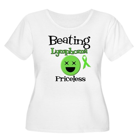 Beating Lymphoma Women's Plus Size Scoop Neck T-Sh
