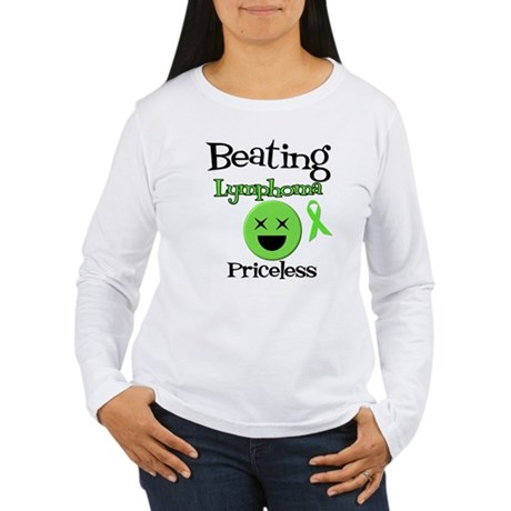 Beating Lymphoma Women's Long Sleeve T-Shirt