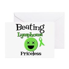 Beating Lymphoma Greeting Cards (Pk of 10)
