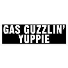 Yuppie Bumper Bumper Sticker