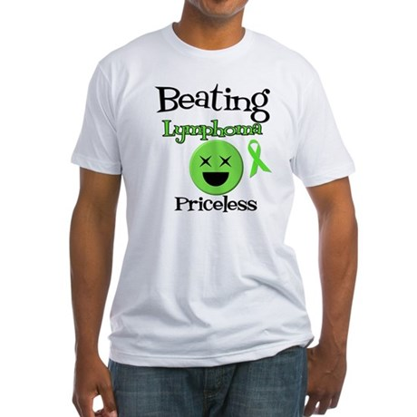 Beating Lymphoma Fitted T-Shirt