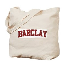 BARCLAY Design Tote Bag