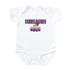 Cheerleaders Rock Infant Bodysuit