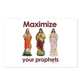 Maximize your prophets ~  Postcards (Package of 8)