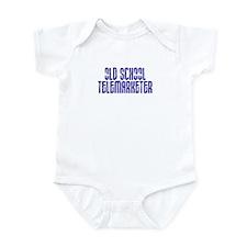 Old School Telemarketer Infant Bodysuit