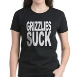 Grizzlies Suck Women's Dark T-Shirt