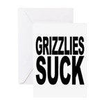 Grizzlies Suck Greeting Card