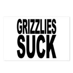 Grizzlies Suck Postcards (Package of 8)