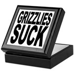 Grizzlies Suck Keepsake Box