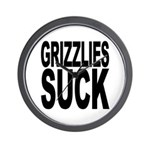 Grizzlies Suck Wall Clock