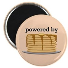 Powered By Pancakes Magnet