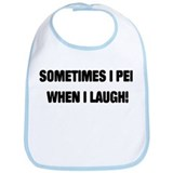 Laugh &amp; Pee Bib
