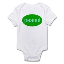 peanut funny silly baby Infant Creeper