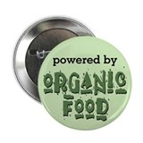 Powered By Organic Food Button