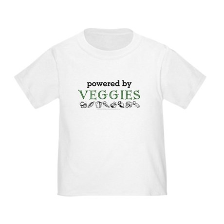 Powered By Veggies Toddler T-Shirt