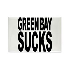 Green Bay Sucks Rectangle Magnet