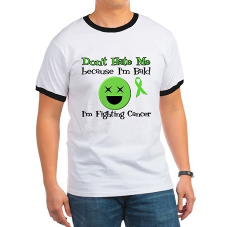 Bald Fighting Cancer Ringer T