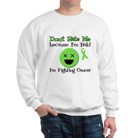 Bald Fighting Cancer Sweatshirt
