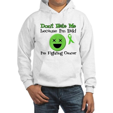 Bald Fighting Cancer Hooded Sweatshirt