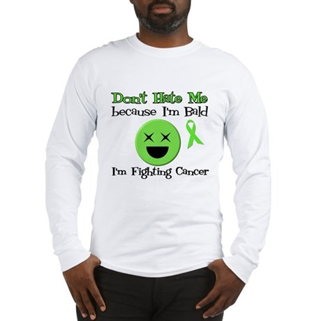 Bald Fighting Cancer Long Sleeve T-Shirt