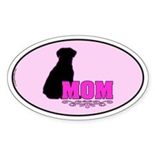 Girly Lab Mom Decal