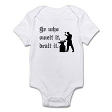 He Who Smelt It Dealt It Infant Bodysuit