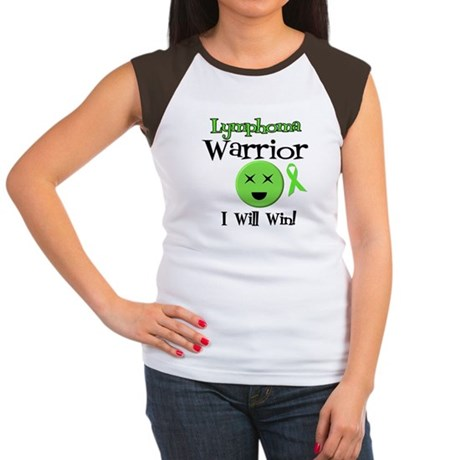 Lymphoma Warrior Women's Cap Sleeve T-Shirt