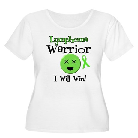 Lymphoma Warrior Women's Plus Size Scoop Neck T-Sh
