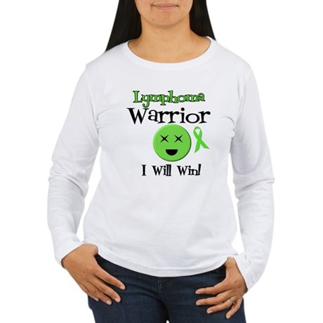Lymphoma Warrior Women's Long Sleeve T-Shirt