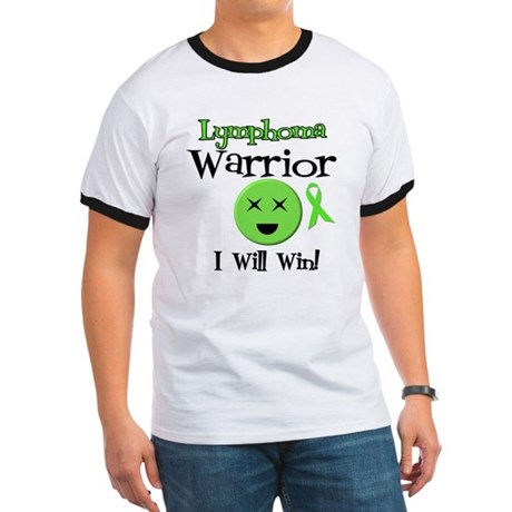 Lymphoma Warrior Ringer T
