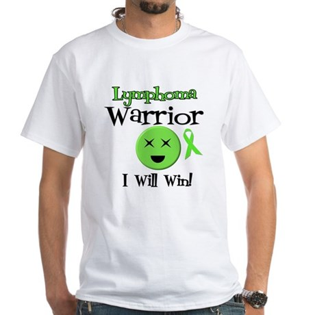 Lymphoma Warrior White T-Shirt