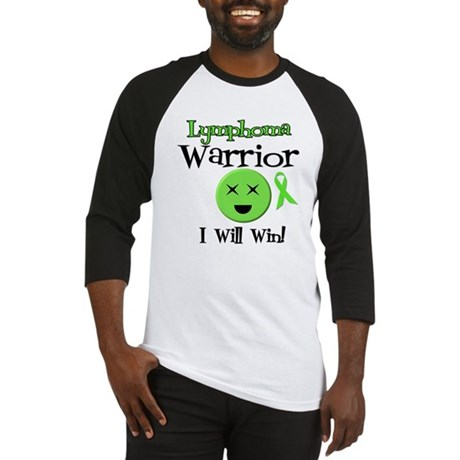 Lymphoma Warrior Baseball Jersey