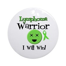 Lymphoma Warrior Ornament (Round)