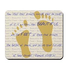 Feet of BeautyTM Mousepad