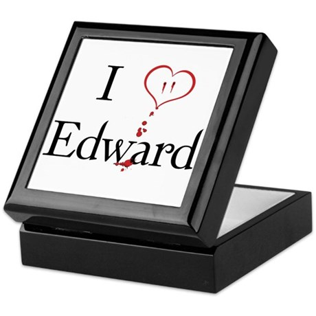 Love Edward Twilight Keepsake Box